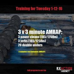 Sorry for the delay, but here is the conditioning for tomorrow. #CrossFit #Fitness #Training #WOD #CrossFitGames #RxAction