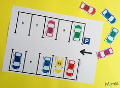 Cars Preschool, Free Preschool, Preschool Kindergarten, Kindergarten Worksheets, Preschool Activities, School Games, Tot School, Transportation Worksheet, Act For Kids
