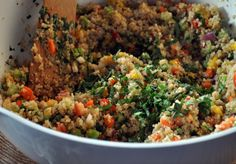 Kitchen Sink Quinoa Salad by @Kelley Epstein {Mountain Mama Cooks}