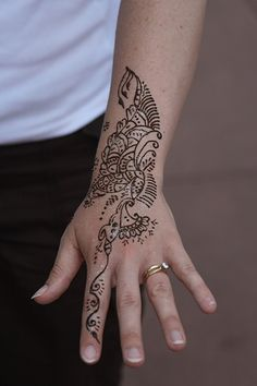 Henna Patterns for Back Hand