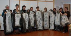Vellykka kurs i SKINNTRYKK 8. - 10. februar 2013 | Bygdekvinnelaget
