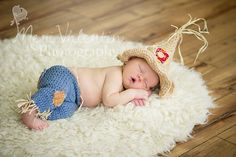 Hey, I found this really awesome Etsy listing at https://www.etsy.com/listing/161618171/crochet-newborn-baby-scarecrow-set-photo