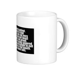 Funny Bacon is Kind parody Coffee Mug