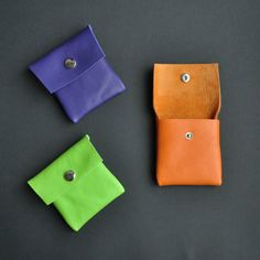 Handmade Leather Coin Purses by // Between the lines //, €9.00