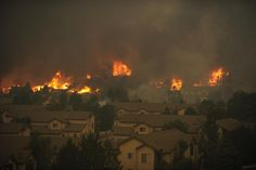 Gallery of images from the Colorado Fires - Prayers sent out for all.    #colorado #fire