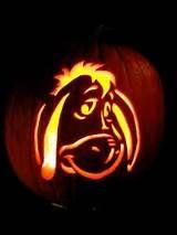 eeyore on halloween pumpkin Halloween Pumpkin Stencils, Disney Pumpkin Carving, Halloween Pumpkin Designs, Amazing Pumpkin Carving, Pumpkin Carving Patterns, Halloween Pumpkins, Scary Pumpkin, Pumpkin Faces, Winnie The Pooh Pumpkin
