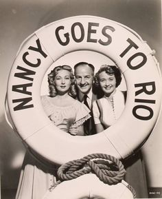 Jane Powell and Ann Sothern, Nancy Goes to Rio