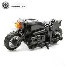Style-A-Harley-Davidson-Motor-Bike-custom-for-Lego-minifig-SHIELD-Avengers