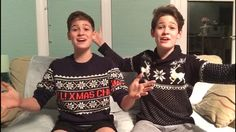I got a personalised video message from Max and Harvey as my Christmas present!