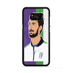 ACF Fiorentina Davide Astori Artwork Samsung Galaxy S8 Case | Caserisa