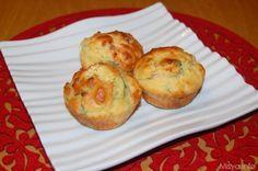 » Muffin salati al salmone Ricette di Misya - Ricetta Muffin salati al salmone di Misya