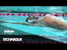Perfect Backstroke Technique At Badger Swim Club