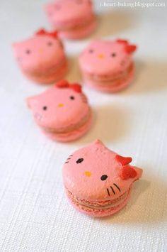 Hello Kitty Macaroons...LOVE!!!!
