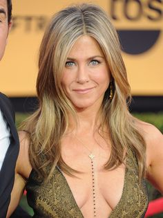 Jennifer Aniston wearing Make Love Black Diamond Body Chain