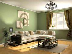Living room #olivegreen