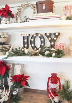 Reader's Christmas Home Tours - Day Four! - Beneath My Heart