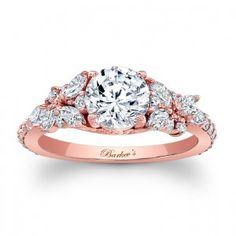 Next time ;)  Rose Gold Engagement Ring 7932LPW