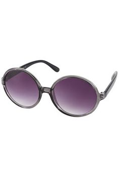 CLEAR OVERSIZED SUNGLASSES  Price: $32.00