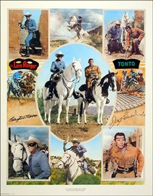 CLAYTON MOORE, THE LONE RANGER!
