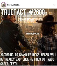 I think he will be really sad wut will Negan do?