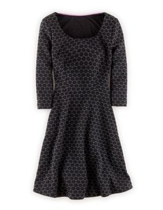 Jersey Jacquard Dress