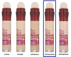 MAYBELLINE Instant Age Rewind Eraser Dark Circles Treatment Concealer 150 Neutralizer >>> You can get additional details at the image link.