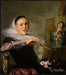 Judith Jans Leyster | {history of art}