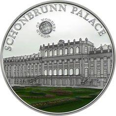 5 Dollar Silber Welt der Wunder - Schloss Schönbrunn PP