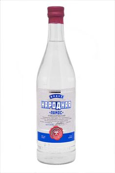Narodnaya Vodka (Народная) from Russia - #Narodnaya #NarodnayaVodka