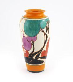 'Autumn' a Clarice Cliff Fantasque Bizarre vase
