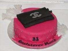 Emmas KakeDesign: Chanel Clutch veskekake