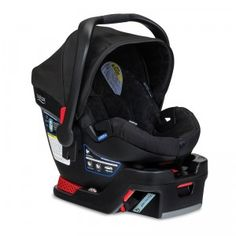 The Britax B-Safe 35 is an infant car seat featuring an increased weight limit of 35 pounds.