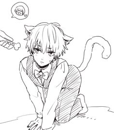 """(Open rp, I'm the neko, you'd be his mistress) I sigh, and crawl along the floor. For some reason, you insist on me crawling everywhere. """"Good boy!"""" You say excitedly when I oblige. I roll my eyes, and you glare."""