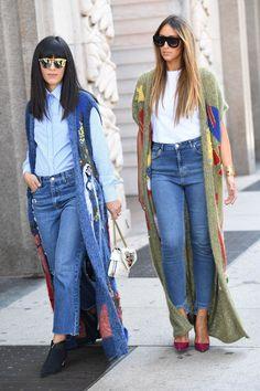 De mooiste, meest inspirerende streetstyle outfits gespot tijdens de modeweken