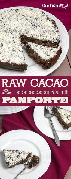 Recipe Redux: Cacao & Coconut Raw Panforte