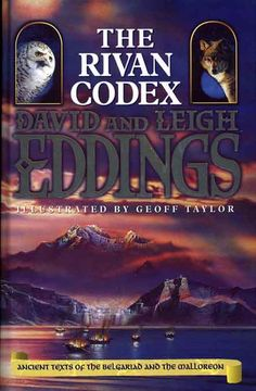 Fantasy the belgariad series the books in order pawn of prophecy belgariadmalloreon the rivan codex book three 1998 by david leigh eddings fandeluxe Images