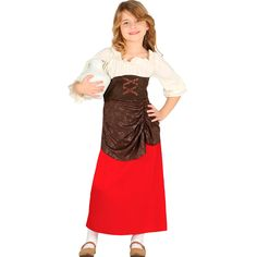 52d42441f Disfraz Niña Posadera Infantil Navidad - Envío 24 horas ✅
