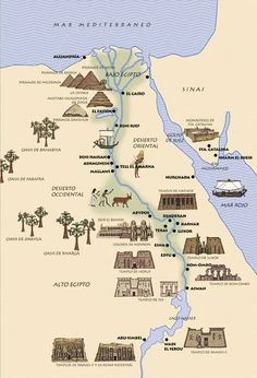 ancient historical places in egypt Ancient Egyptian Art, Ancient History, Ancient Map, Egyptian Pyramid, European History, Ancient Aliens, Ancient Greece, Egypt Map, Pyramids Egypt