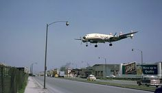 TWA L-1049G landing 22L at MDW Chicago-Midway in the 1958s - Quelle: Google