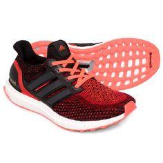 Tênis Adidas Ultra Boost - Vermelho Claro+Preto