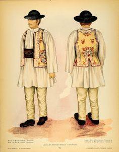 #rotexte Traditional Dresses, Traditional Art, Romanian Men, Folk Costume, Costumes, Romanian Wedding, Paper Dolls Clothing, Free Black, Mens Clothing Styles