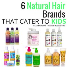If you have adorable little naturalistas the you have to handle their hair with care. Here are 6 natural hair brands that cater to kids.
