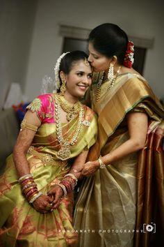 wedding sarees on Pinterest | South Indian Bride, Bridal Sarees ...
