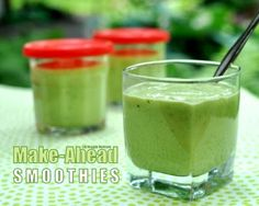 Make-Ahead Smoothies © A Veggie Venture.
