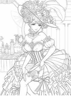 Nouveau Masquerade Coloring Book Custome jouer livre à Barbie Coloring Pages, Fairy Coloring Pages, Adult Coloring Pages, Coloring Books, Manga Coloring Book, Detailed Coloring Pages, Free Coloring, Fox Coloring Page, Anime Art
