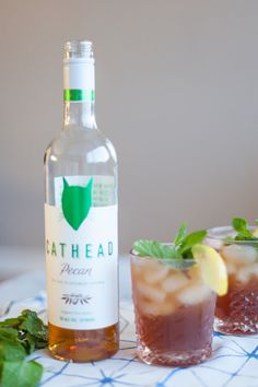 Pecan Spiked Iced Tea, summer cocktail ideas, - My Style Vita @mystylevita