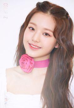 First Mini Album [ ] ♡ Kpop Girl Groups, Kpop Girls, Boy Groups, Peinados Pin Up, Yu Jin, Japanese Girl Group, Korean Makeup, Debut Album, First Photo