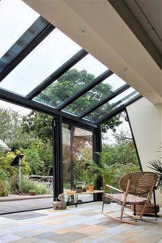 Roof Design, Patio Design, Exterior Design, Design Your Dream House, My Dream Home, House Design, Garage To Living Space, House Extension Design, Bright Homes
