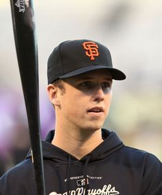 Buster Posey, im not a Giants fan but hes pretty attractive