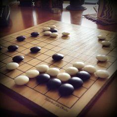 #ShareIG Live in the corner. Black first.  #istanbulgookulu #go #baduk #gogame #gooyunu #oyun #problem #boardgame #strategy #think